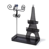 Glitter Eiffel Tower Jewelry Stand   | Claire's