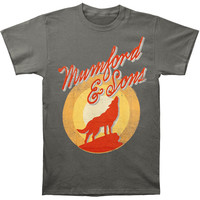 Mumford & Sons Men's  Hopeless T-shirt Grey Rockabilia