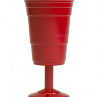 Reusable Red Cup Wine Glass