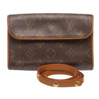 Louis Vuitton Monogram Florentine Pochette Waist Bag