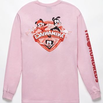The Hundreds x Animaniacs Shield Long Sleeve T-Shirt at PacSun.com