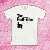 The RODFATHER Fishing design clothing for T-shirt mens and T-shirt girls