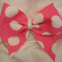 "Pink Bubble Gum Bow 3"" Cheer Bow"