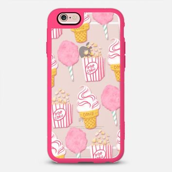 Latest Fashion Tech iPhone Case | Cute Summer Ice Cream Popcorn Candy Design by Casetify (iPhone 6, 6s, 6 Plus, 6s Plus, 7)