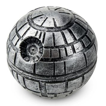 3 Layers Zinc Alloy Star Wars Death Star Grinder weed Herb Tobacco Crusher Grinder Cigarettes Accessories Hand Muller hookah
