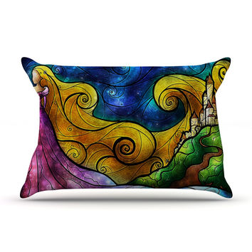 "Mandie Manzano ""Starry Lights"" Pillow Sham"