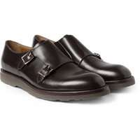 Paul Smith Shoes & Accessories - Rubber-Soled Leather Monk-Strap Shoes | MR PORTER