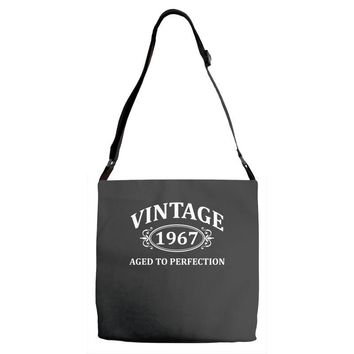 Vintage 1967 Aged to Perfection Adjustable Strap Totes