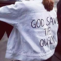 Jacket - God Save The Queen - Jackets - Jackets & Outerwear - Women - Modekungen
