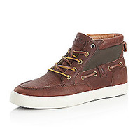 "Product: Polo Ralph Lauren® Men's ""Tristen"" Casual Shoe - Mahogany/Green"
