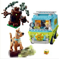 IN STOCK H&HXY 10430 305Pcs Compatible Scooby Doo The Mystery Machine 75902 Building Block Model Educational Toys For Children