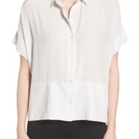 Everlane The Silk Short Sleeve Square Shirt | Nordstrom