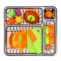 New 13pcs Children Kids Plastic Educational Toys Kitchen Toys Above 3 Years Old
