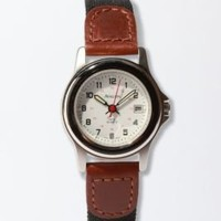 Equestrian Canvas and Leather Watches