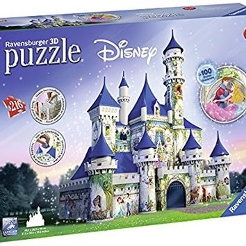 Ravensburger Disney Castle 3D Puzzle (216 Piece)