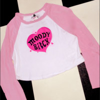 SWEET LORD O'MIGHTY! MOODY BITCH RAGLAN