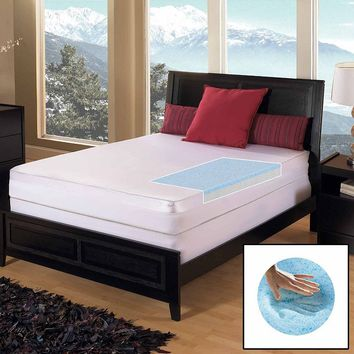 Gel Memory Foam Select 3-in. Mattress Topper - King