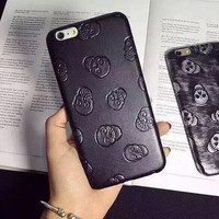 Retro Skull iPhone X 8 7 Plus & iPhone 6s 6 Plus Case +Gift Box