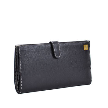 Martine Passport Holder Black