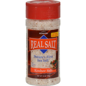 Real Salt Kosher Sea Salt Shaker - 10 Oz