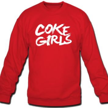 Coke Girls Crew Neck Sweatshirt