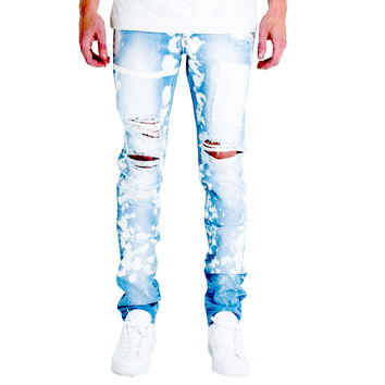 Embellish NYC Drophead Jeans In Light Blue