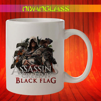 Assassins creed IV mug, assassins creed cup, assassins creed IV mugs, Assassins Creed IV ceramic mug
