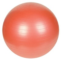 Sunny Health & Fitness 21.7-in. Anti-Burst Gym Ball (Red)