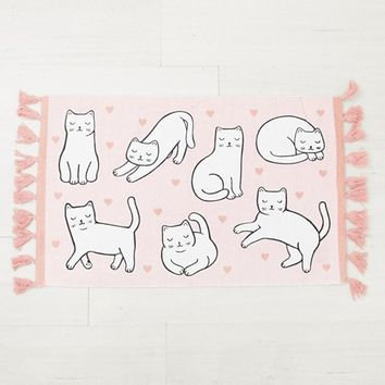 Sass & Belle cat rug at asos.com