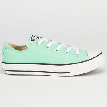 Converse Chuck Taylor All Star Low Girls Shoes Peppermint  In Sizes