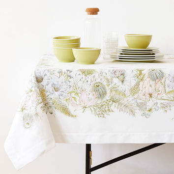 POSITIONED DIGITAL PRINT COTTON TABLECLOTH - TABLECLOTHS AND NAPKINS - KITCHEN & DINING | Zara Home United States of America