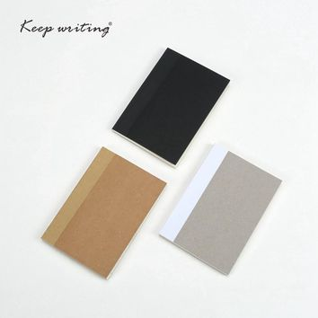 Pocket notebooks Inner Filler papers to do list planners notepad Lined pages Plain paper line pages Stationery office supplies