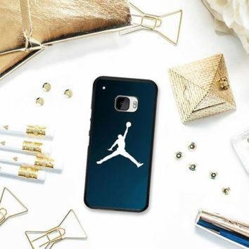 CREYUG7 Michael Jordan Basket Ball Dunk Blue HTC One M10 Case Planetscase.com