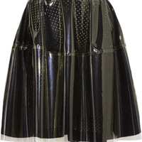 Simone Rocha | PVC and broderie anglaise cotton skirt | NET-A-PORTER.COM