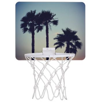 Yoga Sunset Mini Basketball Hoops