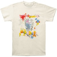 Cage The Elephant Men's  Album Cover T-shirt Ivory