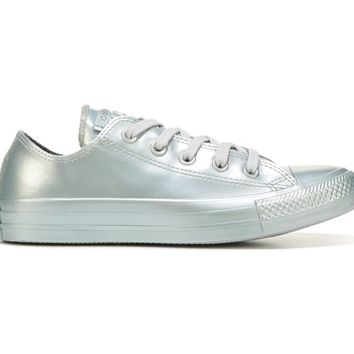 Converse Chuck Taylor All Star Rubber Low Top Sneaker Silver Metallic