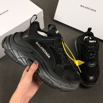 Balenciaga Triple-S Xia Gu jogging shoes-14