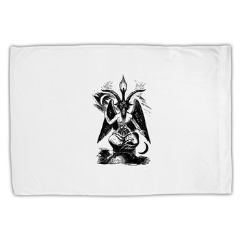 Baphomet Illustration Standard Size Polyester Pillow Case by TooLoud