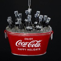 12  Christmas Ornaments - Coca Cola