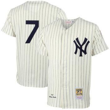 Mickey Mantle New York Yankees Mitchell & Ness MLB Authentic Jersey ¨C Gray