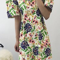 Flower Puppy Dress