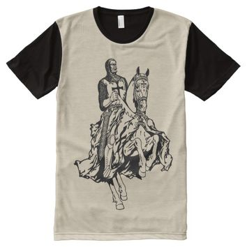 Templar knight All-Over-Print T-Shirt