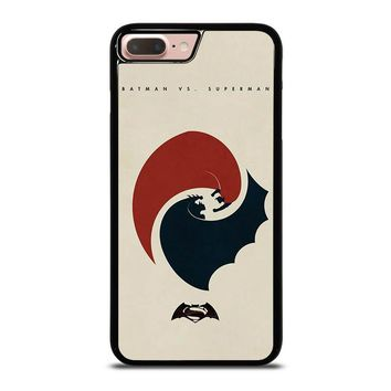 SUPERMAN VS BATMAN YIN YANG iPhone 8 Plus Case Cover