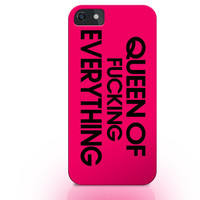 Queen iphone case, chic iphone case, i6 case, queen of everything case, tumblr fashion, tumblr style, girlfriend gift, girl gift idea