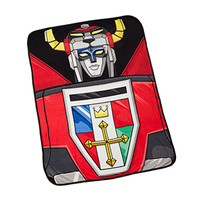 Voltron Fleece Throw Blanket