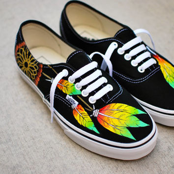 ad5f7d86e96940 Rasta Dream Catcher Vans from B Street Shoes