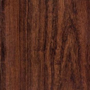 Hampton Bay Hand Scraped Canyon Grenadillo 8 mm Thick x 5-9/16 in. Wide x 47-3/4 in. Length Laminate Flooring (18.45 sq.ft./case)-HL1002 at The Home Depot
