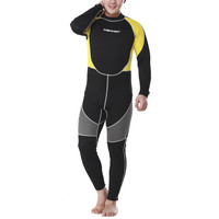3mm Man Long Sleeve Wet Type Diving Suit Wetsuit