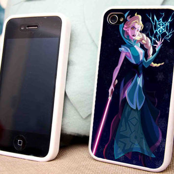 Elsa Madnes for iPhone 5 5C 5S iPhone 4/4S Samsung Galaxy S3 S4 case